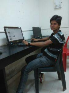 Manisha-1-AtHerCollegeComputerLab