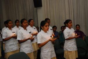 Graduating as a nurse